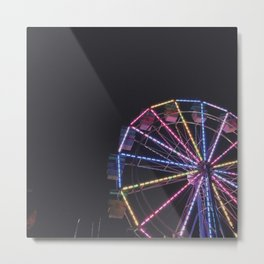 Iowa State Fair 2018 - Ferris Wheel Metal Print