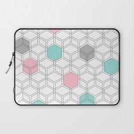 Hexagon nordic pattern Laptop Sleeve