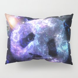 Galaxy Panda Planet Colorful Pillow Sham