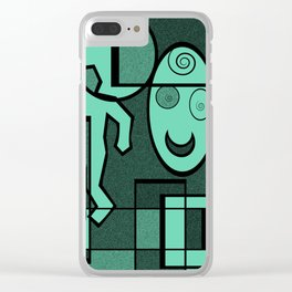 Whodunnit Clear iPhone Case