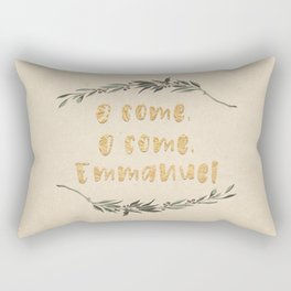 O Come, O Come, Emmanuel Rectangular Pillow