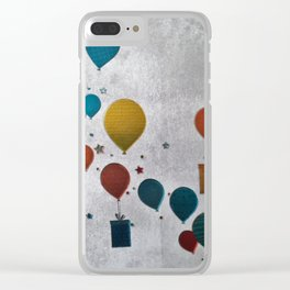 precents and balls Clear iPhone Case