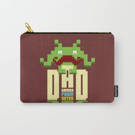 Gamer dad from outer space Carry-All Pouch