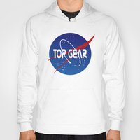 nasa Hoodies featuring Top Gear 'NASA' logo by not-the-stig