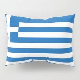 Flag of Greece, High Quality image Pillow Sham