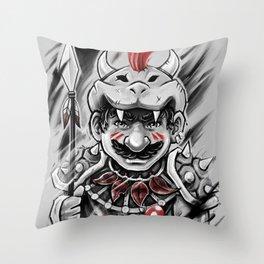 Wild M Throw Pillow