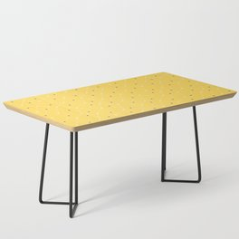 Chemistry Class Doodles - Yellow Coffee Table