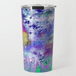 Rainbow Anguish Travel Mug