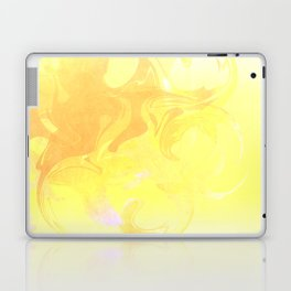 Lemony Swirls Laptop & iPad Skin
