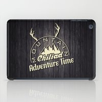 gta iPad Cases featuring GTA V Mountain Chiliad by Spyck