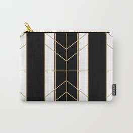 Black & Gold - Art Deco Carry-All Pouch