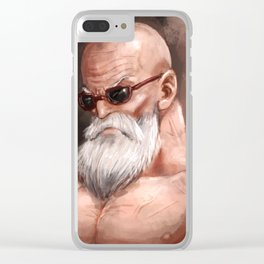 Roshi Powerd up Clear iPhone Case