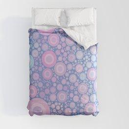 Pastel Jaw Breaker Abstract Cute Polka Dot Bubble Pattern  Comforters