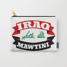 Iraq My Homeland Banner Carry-All Pouch