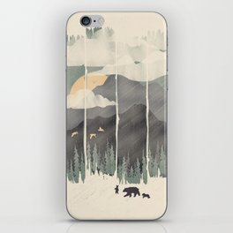 Spring Mountain Weather iPhone Skin