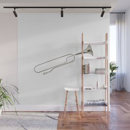 Clip or trumpet? Wall Mural
