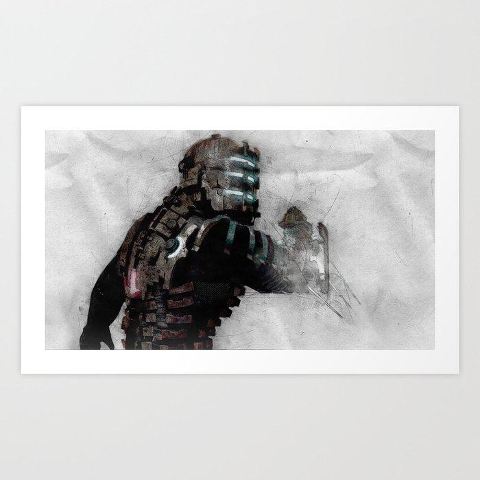 Dead Space 1 Art Print