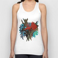 band Tank Tops featuring Betta's Band by Distortion Art