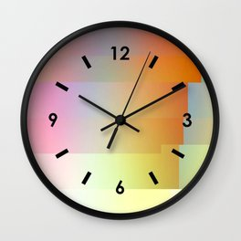 NEU GLITCH Wall Clock