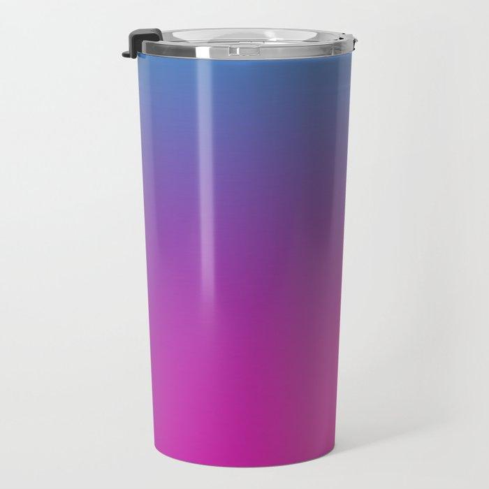 WIZARDS CURSE - Minimal Plain Soft Mood Color Blend Prints Travel Mug