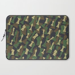 Chess Camo WOODLAND Laptop Sleeve