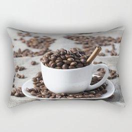 brown coffee beans Rectangular Pillow
