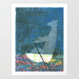 The Crystal Sea Art Print