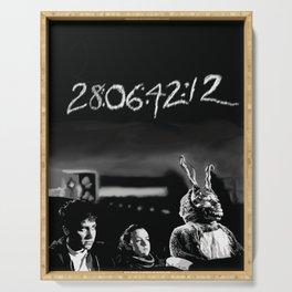 Donnie Darko Poster Serving Tray
