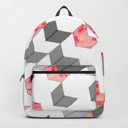Elegant Minimalist Geometric Pattern Backpack