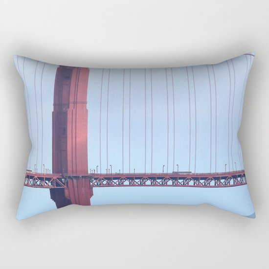 Golden Gate Rectangular Pillow
