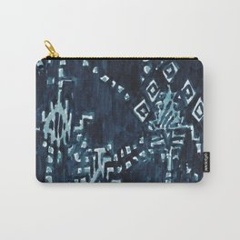 SATELLITE TRIBAL - INDIGO Carry-All Pouch