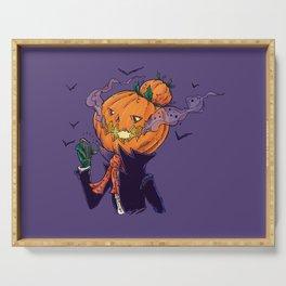 The Pumpkin Bun Serving Tray