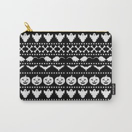 Halloween Ugly Sweat Pattern Carry-All Pouch
