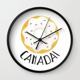 O Canada! Wall Clock