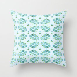Country floral 1 Throw Pillow
