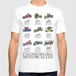 Uncomfortable Motorcycles T-shirt