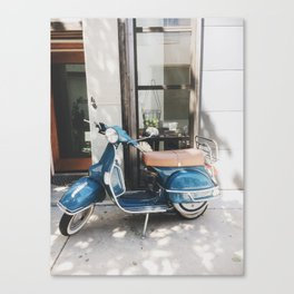 Old Stella the Scooter, South Philadelphia Canvas Print