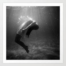 Underwater Peace Art Print
