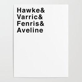 DA2: V/F/A Poster