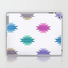 Muted Cotton Candy Aztec Print Laptop & iPad Skin