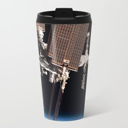 Endeavour docked to ISS Travel Mug