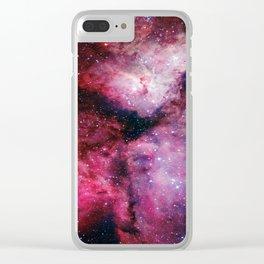 Carina Nebula Clear iPhone Case