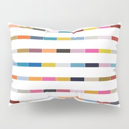 Dot // Dash // Dash // Dot Pillow Sham