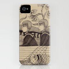 The Golden Fish (2) Slim Case iPhone (4, 4s)