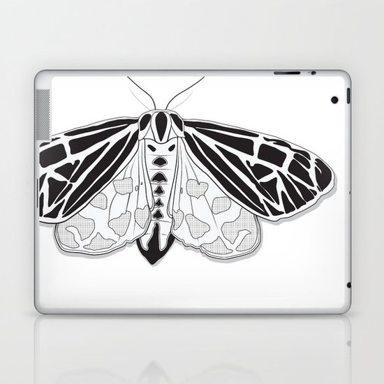 Virgin Tiger Moth Laptop & iPad Skin