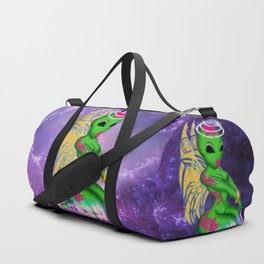 Alien Angel Duffle Bag
