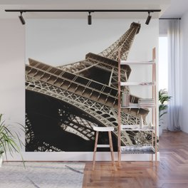 Eiffel Tower Material Wall Mural