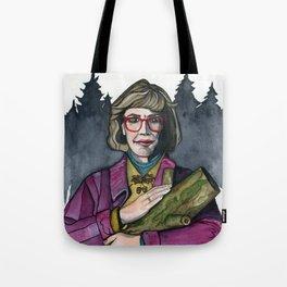 Twin Peaks Log Lady Tote Bag