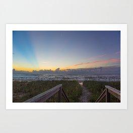 Sunrise View Art Print
