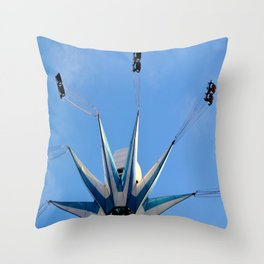 Tower Of Thrills III Throw Pillow
